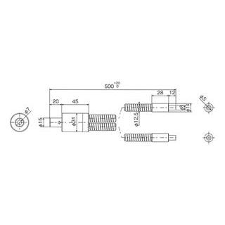 林時計工業 スポットライトガイド LGA2-5L1000N :11040
