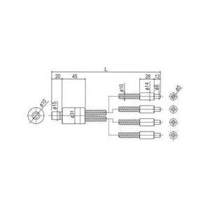 林時計工業 プラスチックライトガイド PLGB(C)4-5L1000 :11390