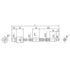 林時計工業 スポットライトガイド LGD1-5L1000 :11240
