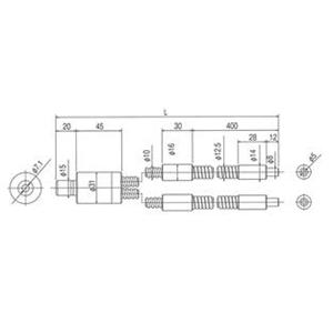 林時計工業 スポットライトガイド LGD2-5L1000 :11250
