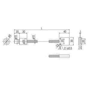 林時計工業 ラインライトガイド LGB(C)1-5L1000-LS20X1.0 :11610