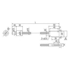 林時計工業 ラインライトガイド LGB(C)1-5L1000-LR20X1.0 :11670