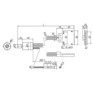 林時計工業 FB専用ライトガイド FB-LGB(C)1-8L1000LS50X1.0 :11840