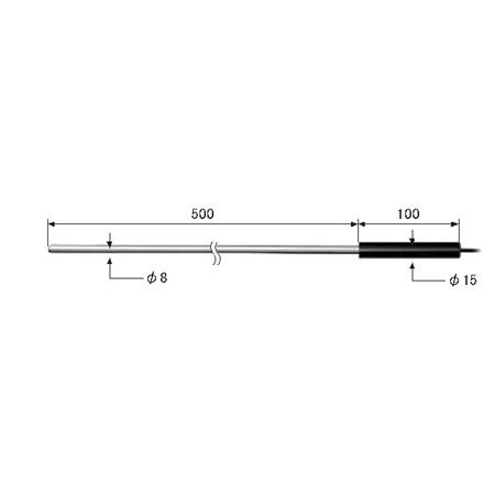 ライン精機 熱電対プローブ KS-82A :03465