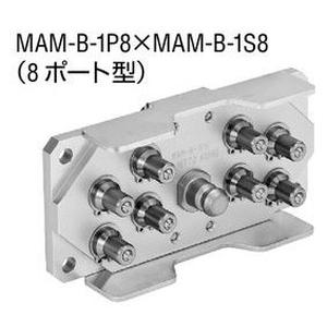 日東工器 マルチカプラ 真ちゅう ふっ素ゴム MAM-B-1P12 BRASS FKM [ メーカーコード ☆03981012852000]
