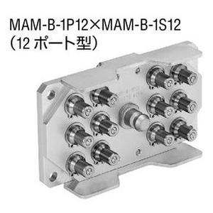 日東工器 マルチカプラ 真ちゅう ふっ素ゴム MAM-B-1S12 BRASS FKM [ メーカーコード ☆03981012851000]