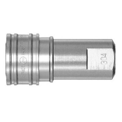 日東工器 セミコンカプラ ステンレス鋼304 エチレンプロピレンゴム 2S-304-E SUS304 EPDM [ メーカーコード ☆03981012728000]
