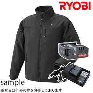 Ryobi 14.4V充电式加热茄克本体BHJ-BXL黑XL尺寸充电器,电池安排