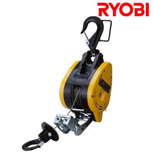 リョービ(RYOBI) 電動ウインチ WI-195 ワイヤー30M 最大吊揚荷重:200kg【在庫有り】【あす楽】
