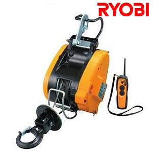 リョービ(RYOBI) 電動リモコンウインチ WIM-126RC ワイヤー21M【在庫有り】【あす楽】
