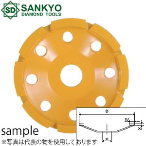 三京ダイヤモンド工業 カップホイール ドライカップ DC-5C 外径×内径(mm):125×20 付属リング(mm):20
