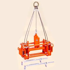 サンキョウトレーディング マシンバイス 内吊 BOX-L ロング コンクリートU字溝吊りクランプ :1台 [配送制限製品]
