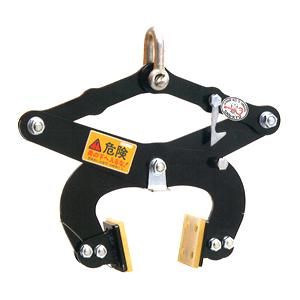 サンキョウトレーディング マシンバイス UP-500 コンクリートU字溝吊りクランプ :2台1セット