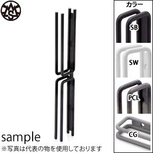 杉山製作所 MINAMI-W ドアハンドル 両面用 NOU-1402-PCL 『2個1組』 カラー:つや消しクリア