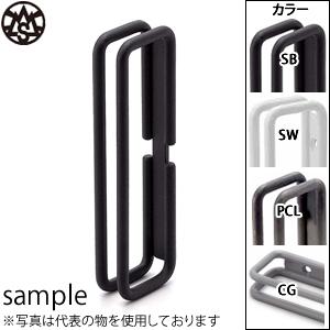 杉山製作所 MIYAMA-S ドアハンドル 両面用 NOU-1403-PCL 『2個1組』 カラー:つや消しクリア