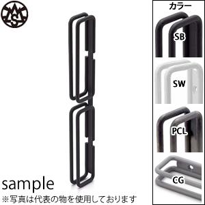 杉山製作所 MIYAMA-W ドアハンドル 両面用 NOU-1404-PCL 『2個1組』 カラー:つや消しクリア