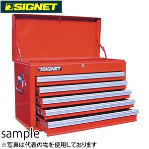 シグネット SG525 ツールチェスト 5段 ベアリングレール(54343) [代引不可商品]