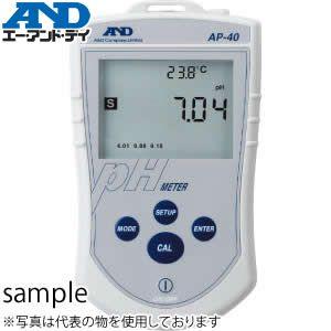 エー・アンド・ディ(A&D) AP-40 ポータブルPHメータ pH標準電極付属(AX-APA50-3)