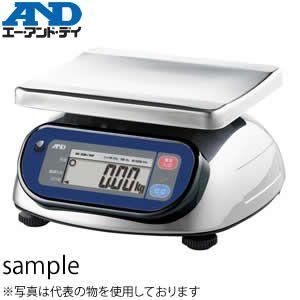 エー・アンド・ディ(A&D) SK-30KiWP 防塵・防水 コンパクトスケール 検定付 [ひょう量:30kg]