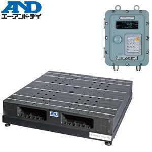 エー・アンド・ディ(A&D) SN-1200KFP 耐圧防爆構造 パレット一体型デジタル台秤(はかり) [ひょう量:1200kg]