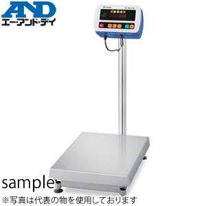 エー・アンド・ディ(A&D) SW-60KL IP69K 防塵・防水デジタル台秤(はかり) [ひょう量:60kg]