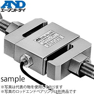 エー・アンド・ディ(A&D) LC1205-T002 S字タイプ汎用型ロードセル 引張・圧縮両用 定格容量(質量):20kN(2.039t)