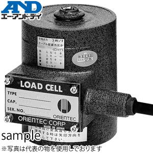 エー・アンド・ディ(A&D) CP-30 密閉構造型ロードセル 圧縮タイプ 定格容量(質量):300kN(30.59t)