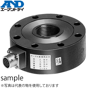 エー・アンド・ディ(A&D) ULF-30 引張・圧縮試験用ロードセル 定格容量(質量):300kN(30.59t)