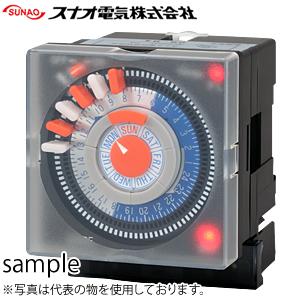 スナオ電気 ETS-703P カレンダータイマー パネル埋込型/1ch型