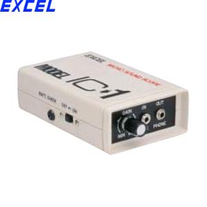 エクセル IC-1 マイクロサウンドスコープ 周波数帯域:40~20KHz 電圧増幅度:40dB