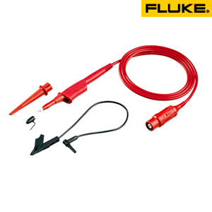 フルーク(FLUKE) VPS212-R 10:1電圧プローブ・セット(赤2.5m)