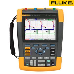 フルーク(FLUKE) FLUKE 190 204/JP/S スコープメーター(4ch携帯型オシロスコープ) SCC290付