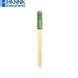 ハンナインスツルメンツ HI12301 プラスチックボディpH複合電極 3.5mmミニプラグ 温度センサー&アース棒内蔵
