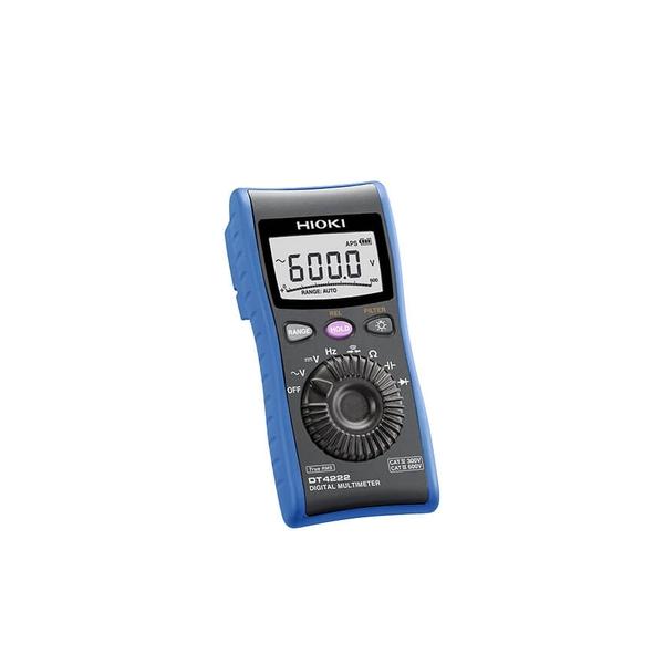 日置電機(HIOKI) DT4222 デジタルマルチメータ(C測定/抵抗測定搭載の汎用タイプ)