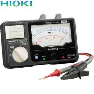日置電機(HIOKI) IR4011-10 絶縁抵抗計 単レンジ(スイッチなしリード付属)