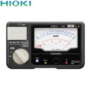 日置電機(HIOKI) IR4011-11 絶縁抵抗計 単レンジ(スイッチ付きリード付属)