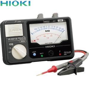 日置電機(HIOKI) IR4013-10 絶縁抵抗計 単レンジ(スイッチなしリード付属)