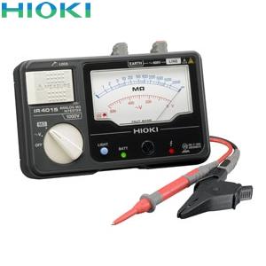 日置電機(HIOKI) IR4015-10 絶縁抵抗計 単レンジ(スイッチなしリード付属)