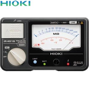日置電機(HIOKI) IR4015-11 絶縁抵抗計 単レンジ(スイッチ付きリード付属)