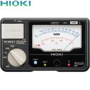 日置電機(HIOKI) IR4031-11 絶縁抵抗計 3レンジ(スイッチ付きリード付属)