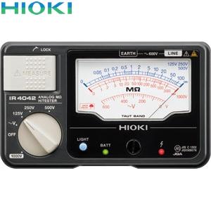 日置電機(HIOKI) IR4042-11 絶縁抵抗計 4レンジ(スイッチ付きリード付属)