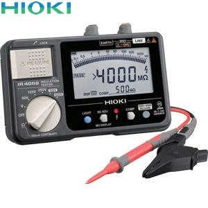 日置電機(HIOKI) IR4052-10 絶縁抵抗計(スイッチなしリード付属)