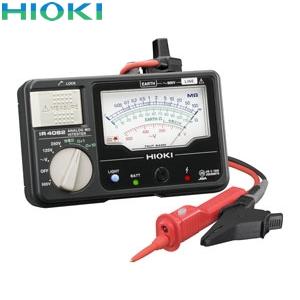 日置電機(HIOKI) IR4082-11 アナログメグオームハイテスタ(スイッチ付きリード付属)