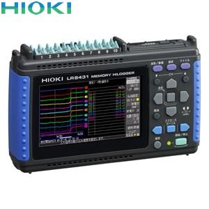 日置電機(HIOKI) LR8431 メモリハイロガー(本体のみ)