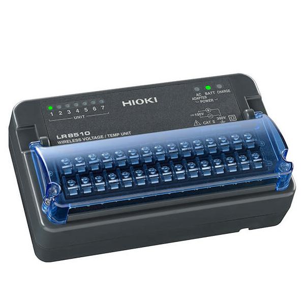 日置電機(HIOKI) LR8510 ワイヤレス熱流ロガー(15ch入力ユニット)