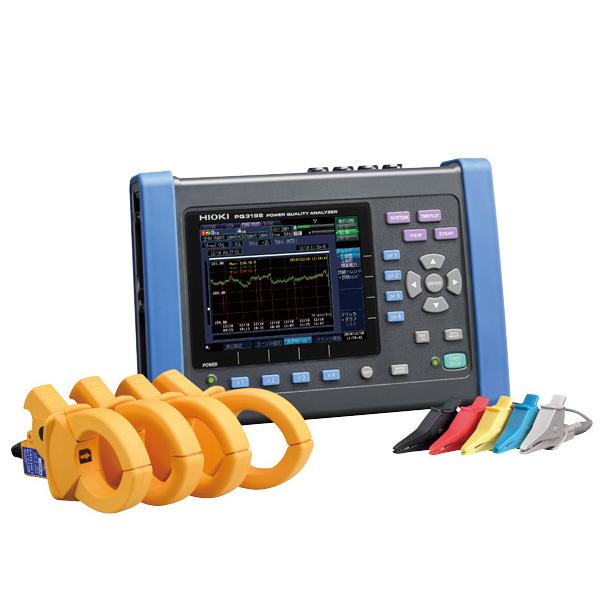 日置電機(HIOKI) PW3198-90 電源品質アナライザ(9624-50とセット販売品)