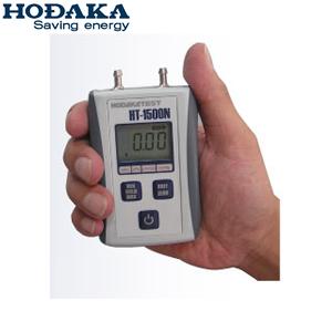ホダカ HT-1500NH ホダカテスト デジタルマノメータ エデマ 中間圧:-749hPa~+1499hPa