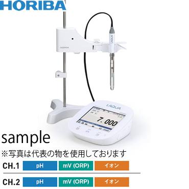 堀場製作所(HORIBA) 卓上型pHメータ F-72N/ニードルISFETpH電極セット