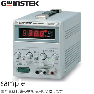 インステック(INSTEK) GPS-3030DD シリーズ直流電源 30V・3A