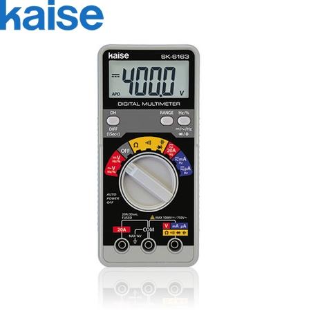 カイセ(Kaise) SK-6161 ハンディタイプ デジタルマルチメーター